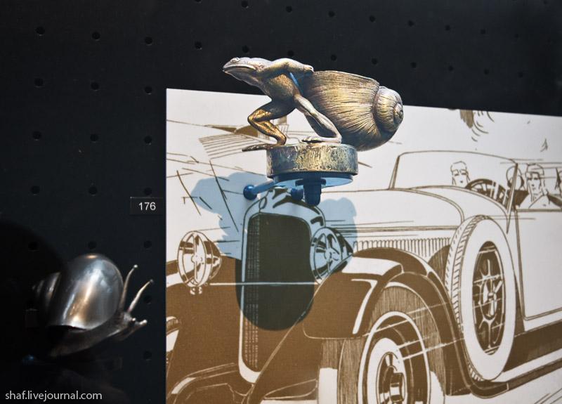 Автомузей; Национальный музей автомобилей, Мюлуз (Mulhouse), Франция; авитоэмблемы